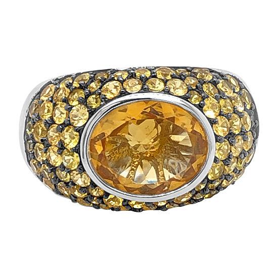Le Vian Grand Sample Sale™ Ring featuring Cinnamon Citrine® Yellow Sapphire set in 18K Vanilla Gold®