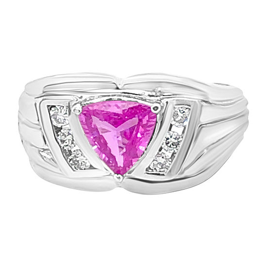 Le Vian Grand Sample Sale™ Ring featuring Bubble Gum Pink Sapphire™ set in 14K Vanilla Gold®