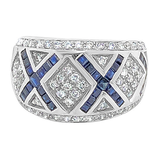 Le Vian Grand Sample Sale™ Ring featuring Blueberry Sapphire™ Vanilla Diamonds® set in 14K Vanilla Gold®