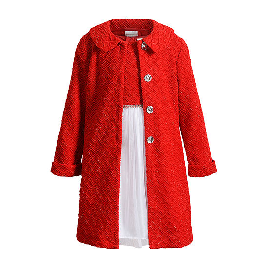 Emily West Girls 2-pc. Jacket Dress - Preschool / Big Kid