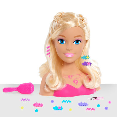 Barbie Glam Party Blonde Styling Head 20-Piece Set