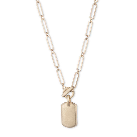 a.n.a 16 Inch Link Pendant Necklace