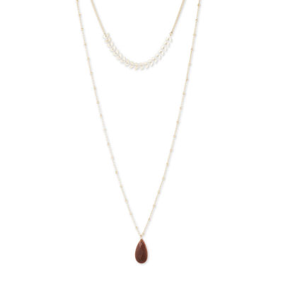 a.n.a 28 Inch Curb Pendant Necklace