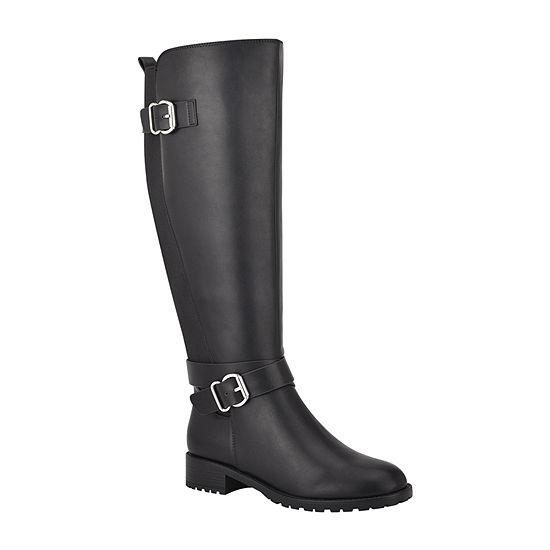 Unisa Womens Parris Riding Block Heel Boots