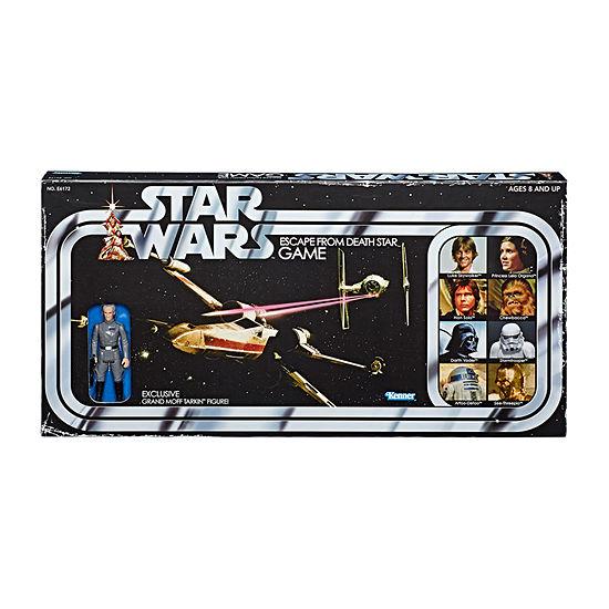 Hasbro Star Wars Escape From The Death Star Retro Game