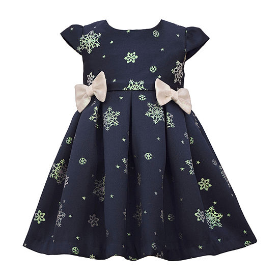 Bonnie Jean Toddler Girls Short Sleeve Empire Waist Dress