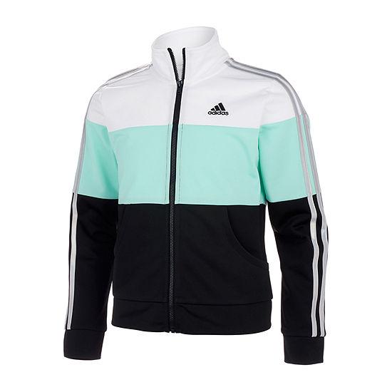 adidas Big Girls Lightweight Track Jacket