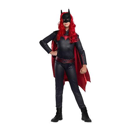 Child Batwoman Girls Costume. Medium . Black