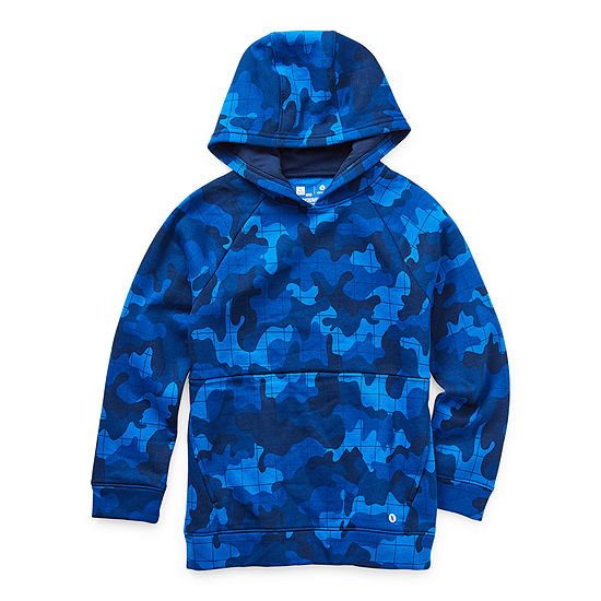 Xersion Cotton Fleece Little & Big Boys Hoodie
