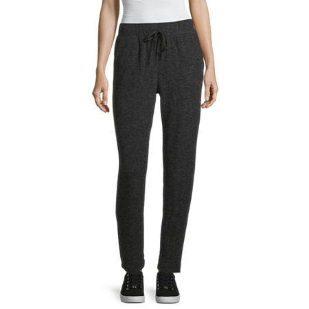 Liz Claiborne Womens Jogger Pant, X-large , Gray