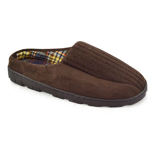 MUK LUKS® Flannel-Lined Scuffs
