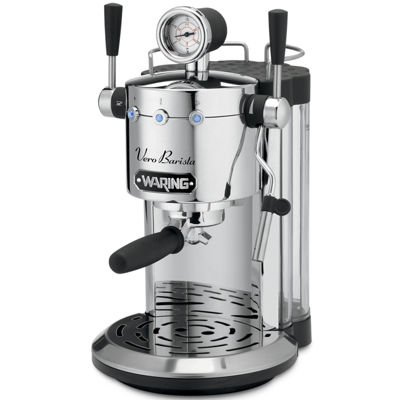 Waring Pro® Vero Barista Espresso Maker + BONUS Espresso Cups & Saucers by Mail