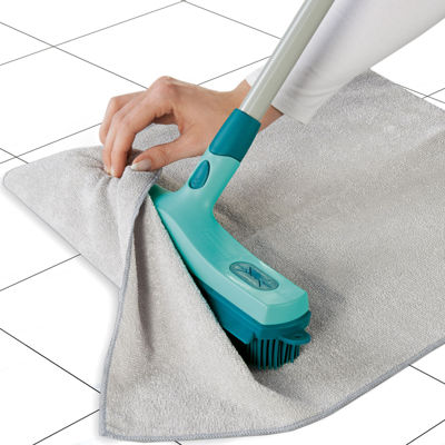 Leifheit Click System 3-in-1 Rubber Broom