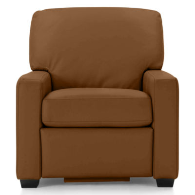Leather Possibilities Track-Arm Recliner