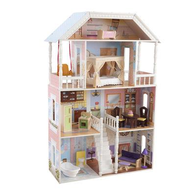 Kidkraft Savannah Dollhouse With Furniture Jcpenney