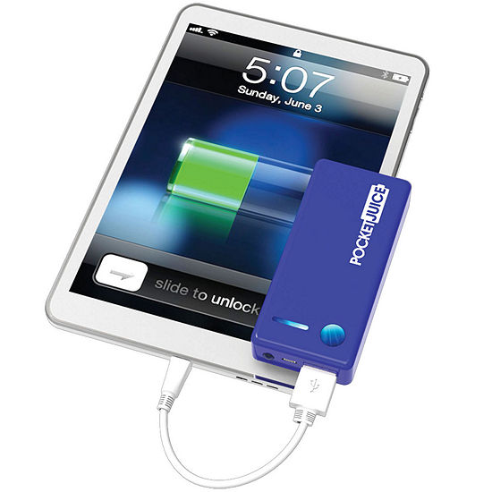 Tzumi Pocket Juice 4000 Mah Portable Power Bank Charger