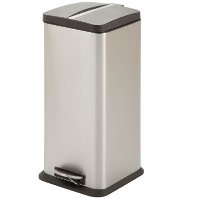 Honey-Can-Do® 30L Step Trash Can