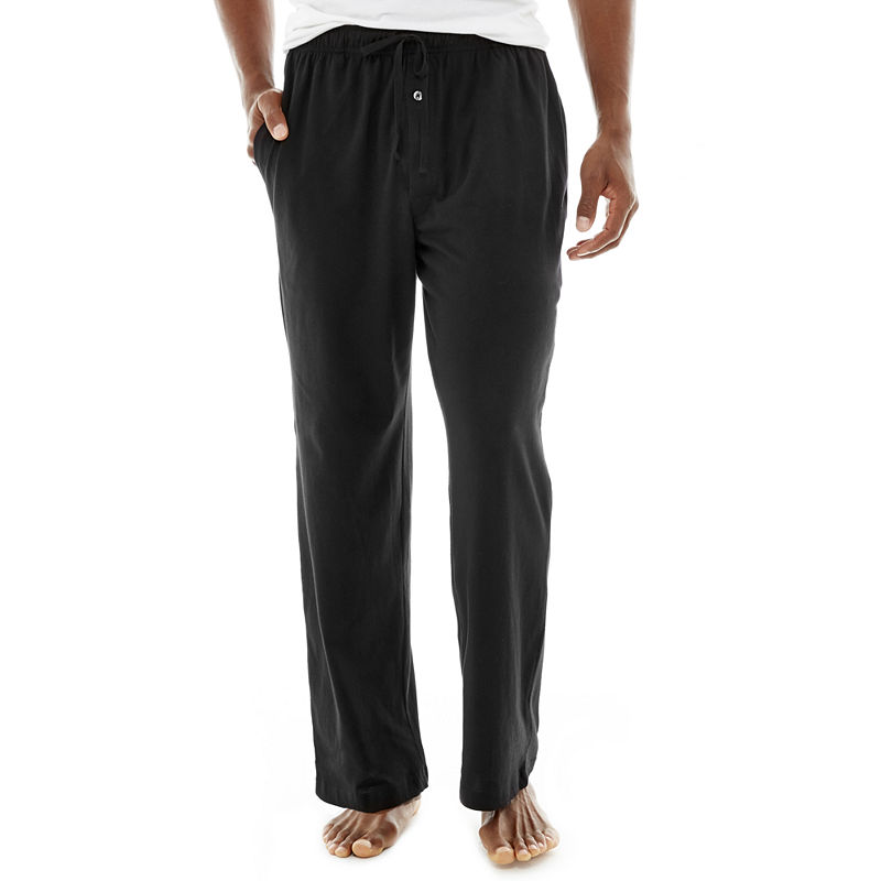 Stafford Knit Pajama Pants - Big & Tall plus size,  plus size fashion plus size appare