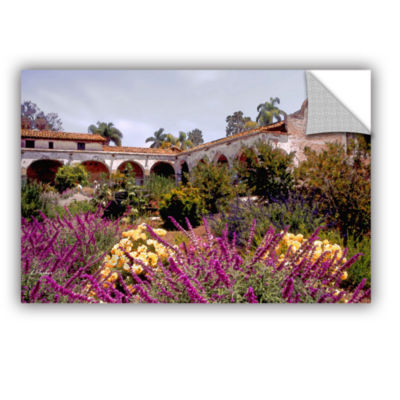 Brushstone Gardens of Mission San Juan CapistranoRemovable Wall Decal
