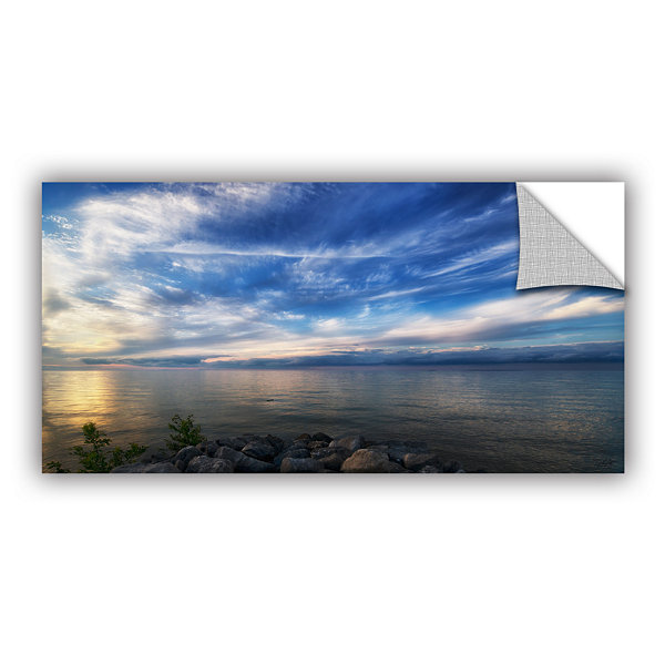 Brushstone Glowing Lakeview Removable Wall Decal