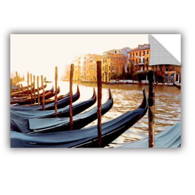 Brushstone Gondolas of Venice Removable Wall Decal