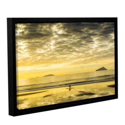 Brushstone Golden Morning Gallery Wrapped Floater-Framed Canvas