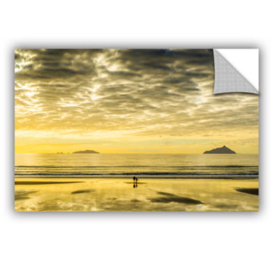Brushstone Golden Morning Removable Wall Decal