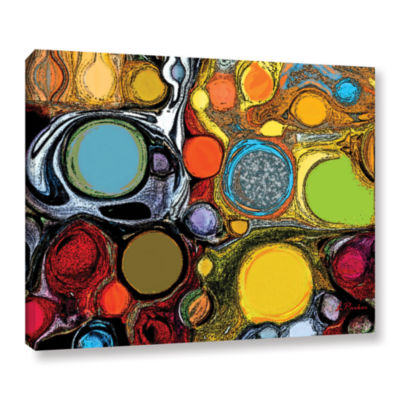 Brushstone Glass Bubbles 2 Gallery Wrapped Canvas