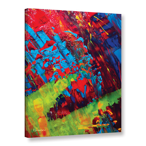 Brushstone Fun Gallery Wrapped Canvas