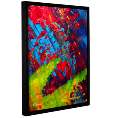 Brushstone Fun Gallery Wrapped Floater-Framed Canvas
