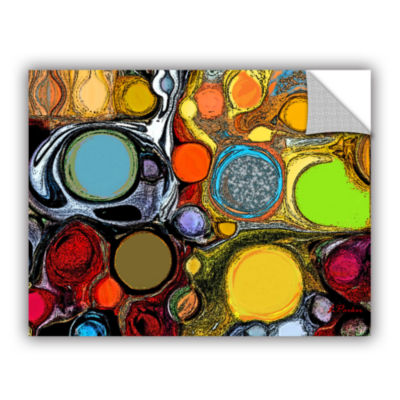Brushstone Glass Bubbles 2 Removable Wall Decal