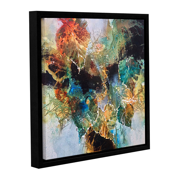 Brushstone Full Of Wonder Gallery Wrapped Floater-Framed Canvas