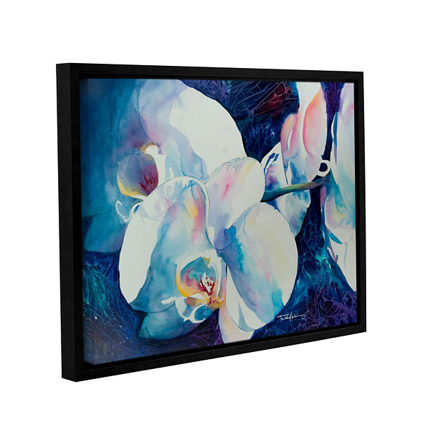 Brushstone Ghosts Gallery Wrapped Floater-Framed Canvas