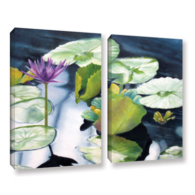 Brushstone From Deep 2-pc. Gallery Wrapped CanvasSet