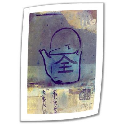 Brushstone Good Tea Canvas Wall Art