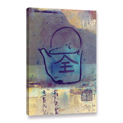 Brushstone Good Tea Gallery Wrapped Canvas