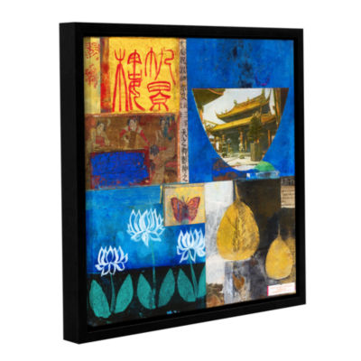 Brushstone Good Fortune Gallery Wrapped Floater-Framed Canvas