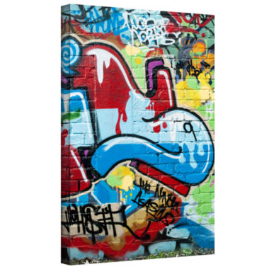 Brushstone Graf 2 (2) Gallery Wrapped Canvas
