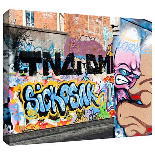 Brushstone Graf 23 Gallery Wrapped Canvas Wall Art