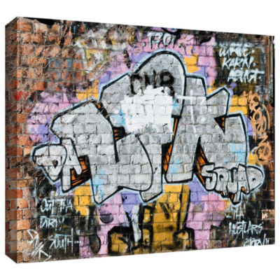 Brushstone Graf 24 Gallery Wrapped Canvas