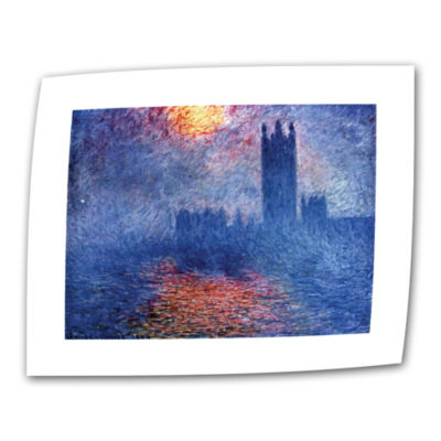 Brushstone House of Parliament Canvas Wall Art