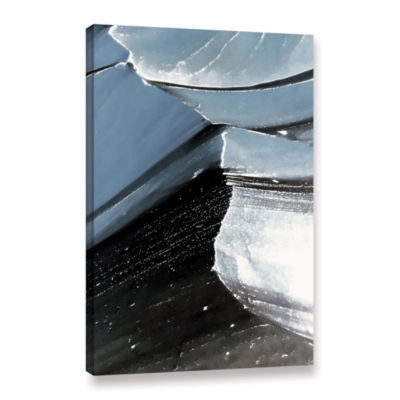 Brushstone Frozen Mountain Gallery Wrapped Canvas
