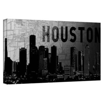 Brushstone Houston Gallery Wrapped Canvas