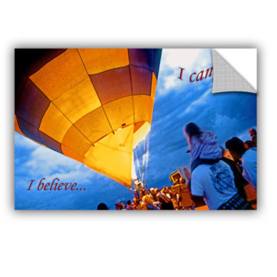 Brushstone I Believe I Can Fly Removable Wall Decal