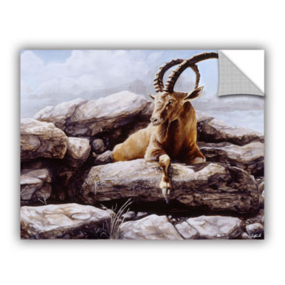 Brushstone Ibex Removable Wall Decal