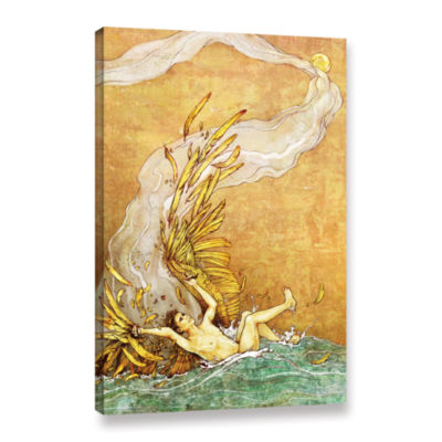 Brushstone Icarus Gallery Wrapped Canvas