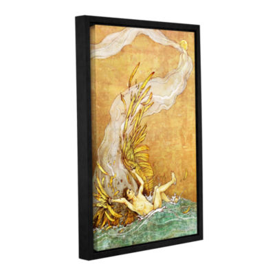 Brushstone Icarus Gallery Wrapped Floater-Framed Canvas