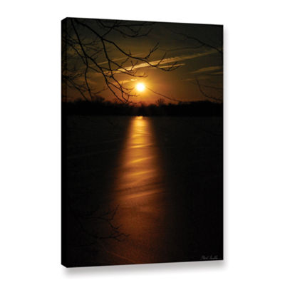 Brushstone Ice Capades Gallery Wrapped Canvas