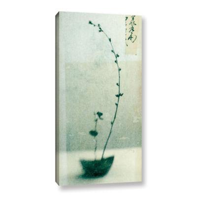 Brushstone Ikebana Gallery Wrapped Canvas