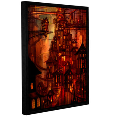 Brushstone Illuminations Gallery Wrapped Floater-Framed Canvas